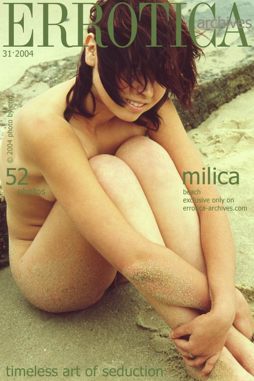 Milica - `Beach` - by Erro for ERROTICA-ARCHIVES
