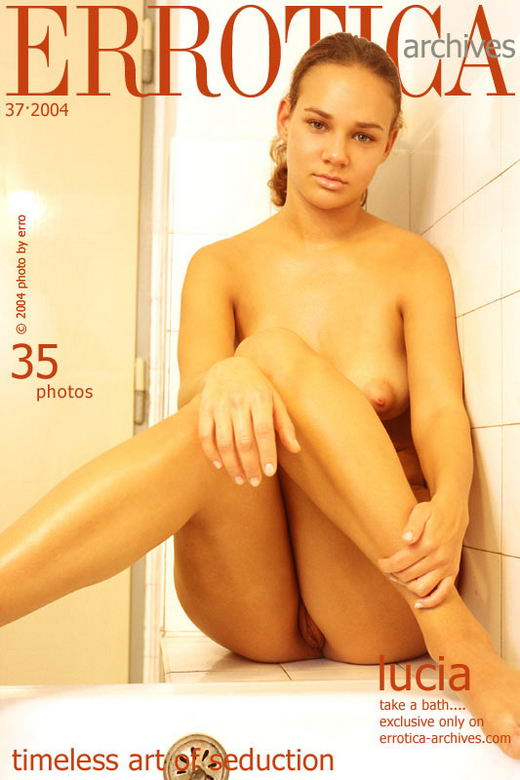 Lucia in Take A Bath... gallery from ERROTICA-ARCHIVES by Erro