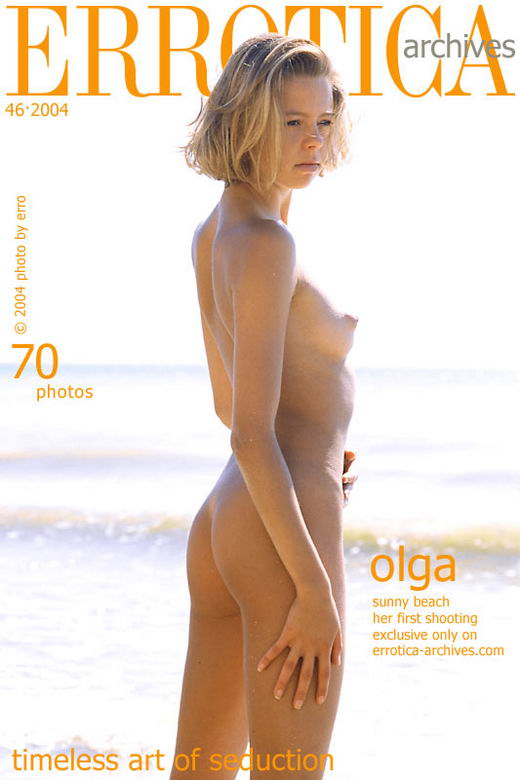 Olga - `Sunny Beach` - by Erro for ERROTICA-ARCHIVES