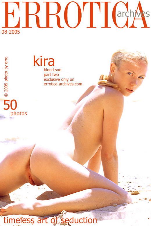 Kira - `Blond Sun Part Ii.` - by Erro for ERROTICA-ARCHIVES