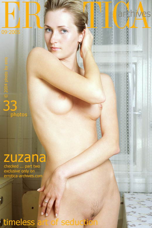 Zuzana - `Checked - Part II` - by Erro for ERROTICA-ARCHIVES
