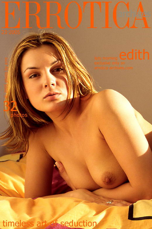 Edith - `Lazy Morning` - by Erro for ERROTICA-ARCHIVES