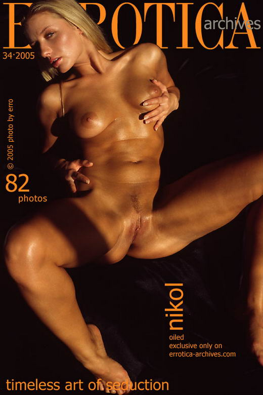 Nikol in Oiled gallery from ERROTICA-ARCHIVES by Erro