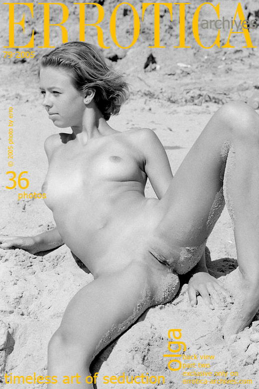 Olga in Back View - Part Two gallery from ERROTICA-ARCHIVES by Erro