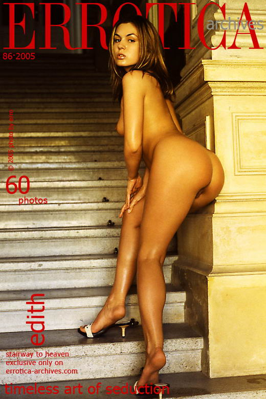 Edith - `Stairway To Heaven` - by Erro for ERROTICA-ARCHIVES