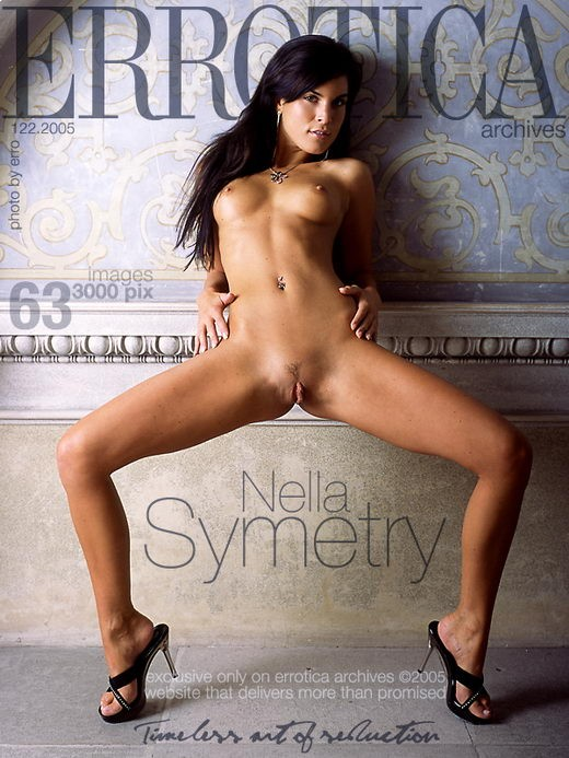 Nella - `Symetry` - by Erro for ERROTICA-ARCHIVES
