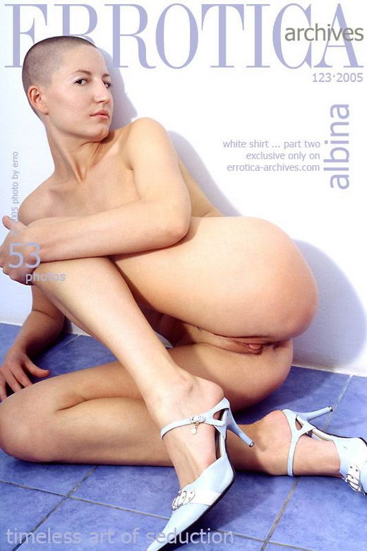 Albina - `White Shirt ... Part Two` - by Erro for ERROTICA-ARCHIVES