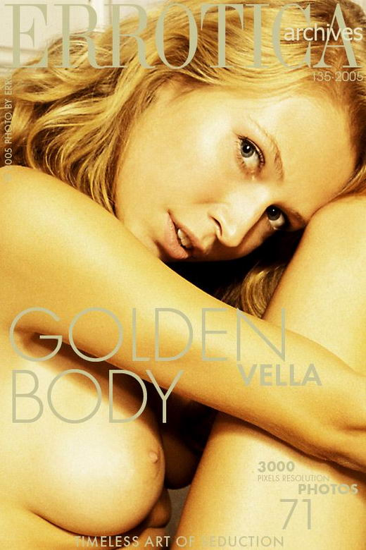 Vella - `Golden Body` - by Erro for ERROTICA-ARCHIVES