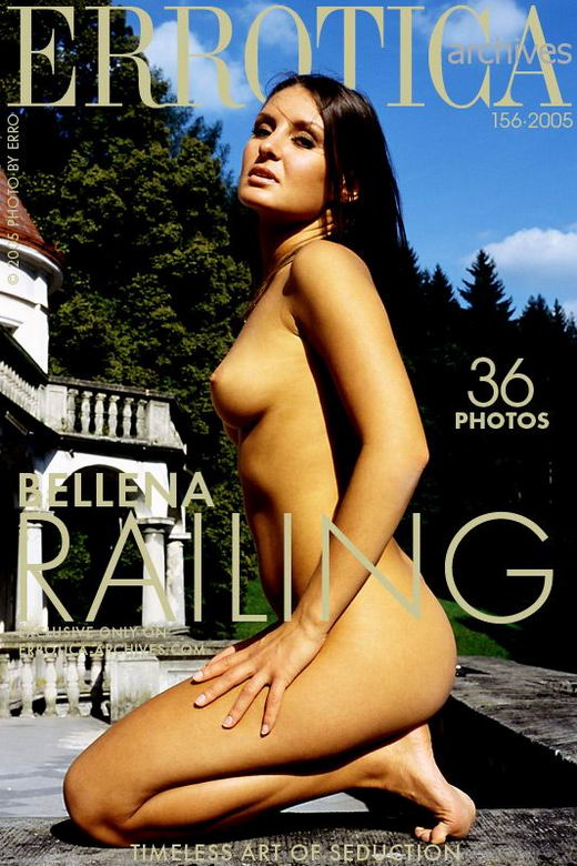 Bellena in Railing gallery from ERROTICA-ARCHIVES by Erro