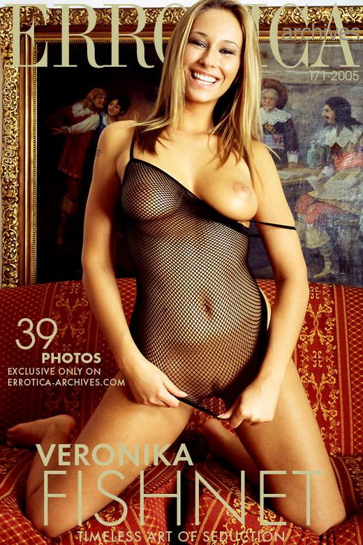 Veronika - `Fishnet` - by Erro for ERROTICA-ARCHIVES