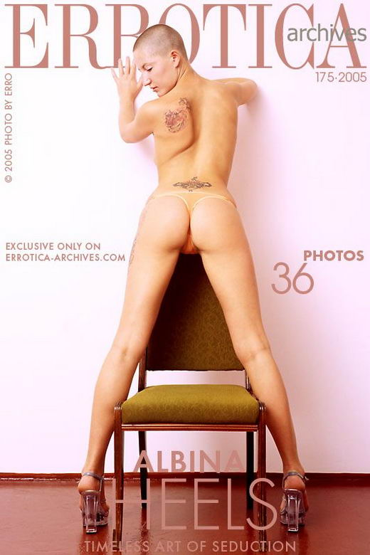 Albina - `Heels` - by Erro for ERROTICA-ARCHIVES