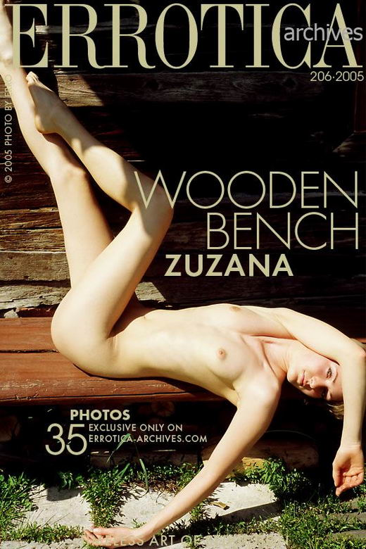 Zuzana - `Wooden Bench` - by Erro for ERROTICA-ARCHIVES