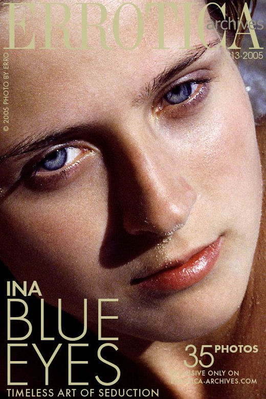 Ina - `Blue Eyes` - by Erro for ERROTICA-ARCHIVES