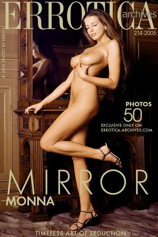 Monna - `Mirror` - by Erro for ERROTICA-ARCHIVES