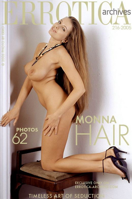 Monna - `Hair` - by Erro for ERROTICA-ARCHIVES