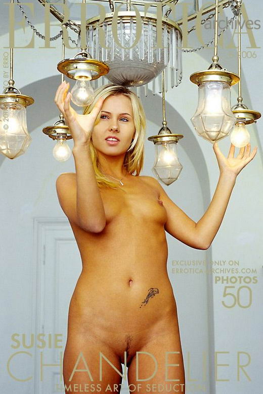 Susie - `Chandelier` - by Erro for ERROTICA-ARCHIVES