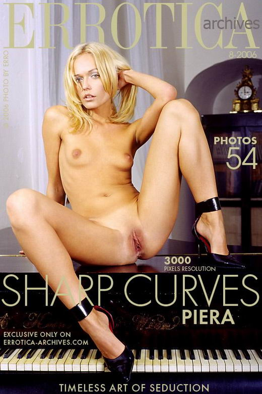 Piera - `Sharp Curves` - by Erro for ERROTICA-ARCHIVES