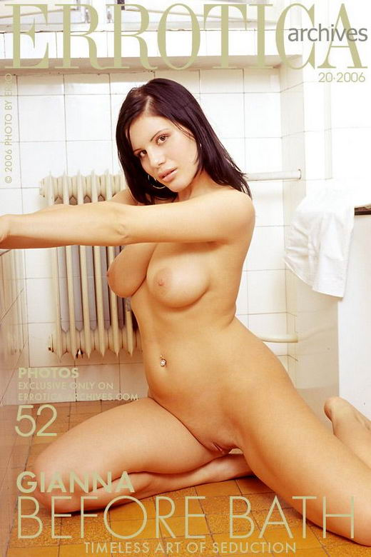 Gianna - `Before Bath` - by Erro for ERROTICA-ARCHIVES