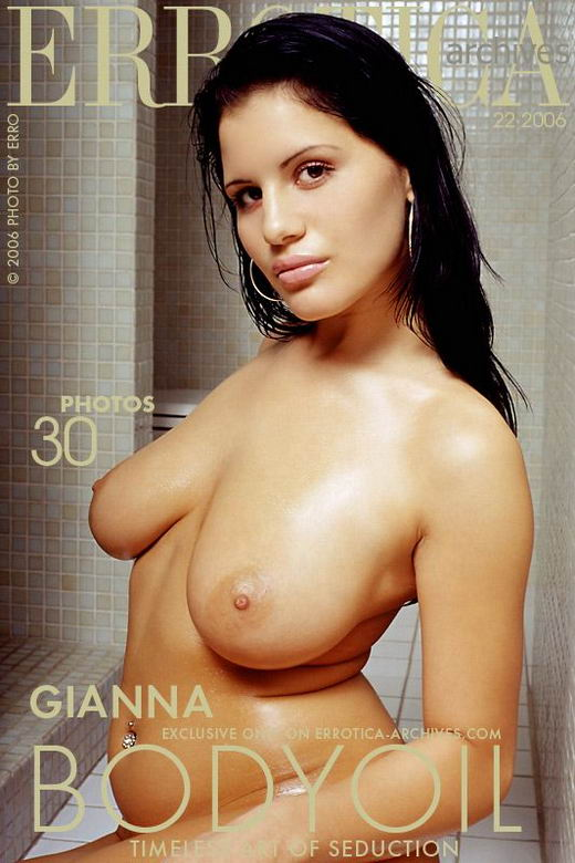 Gianna - `Bodyoil` - by Erro for ERROTICA-ARCHIVES