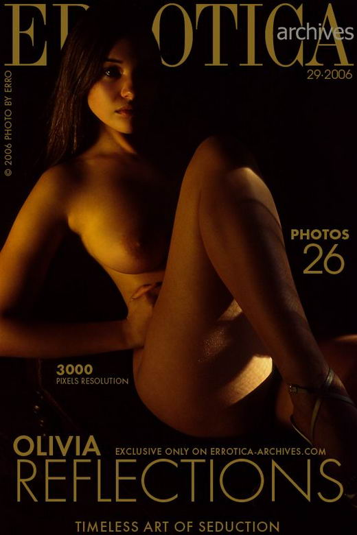 Olivia - `Reflections` - by Erro for ERROTICA-ARCHIVES