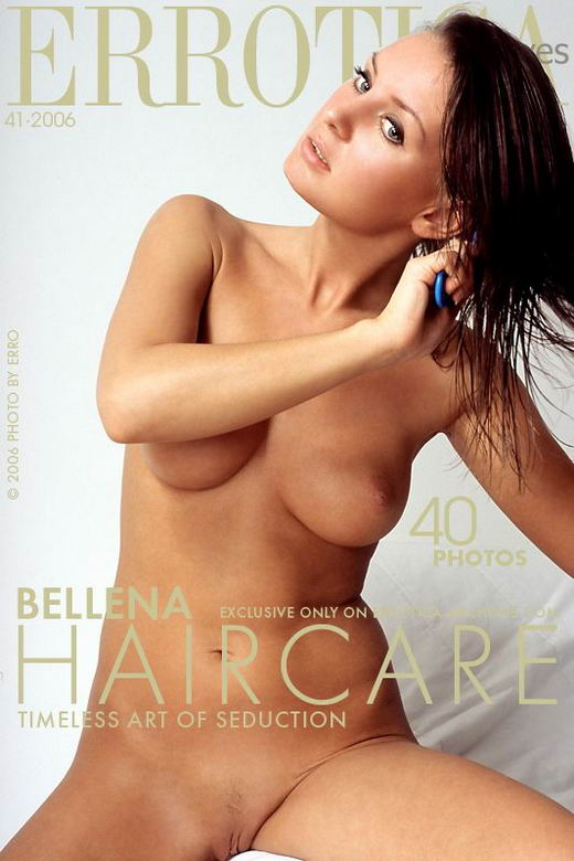 Bellena - `Haircare` - by Erro for ERROTICA-ARCHIVES