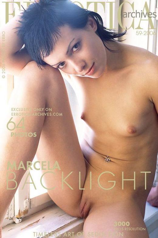 Marcela - `Backlight` - by Erro for ERROTICA-ARCHIVES