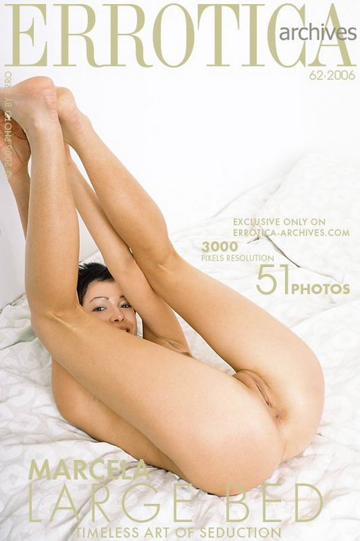 Marcela in Large Bed gallery from ERROTICA-ARCHIVES by Erro