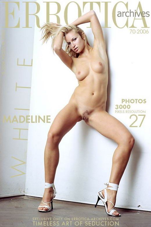 Madeline - `White` - by Erro for ERROTICA-ARCHIVES