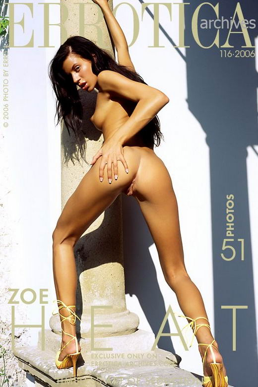 Zoe - `Heat` - by Erro for ERROTICA-ARCHIVES