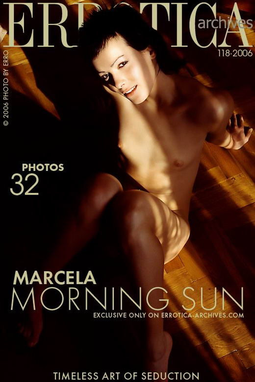 Marcela - `Morning Sun` - by Erro for ERROTICA-ARCHIVES