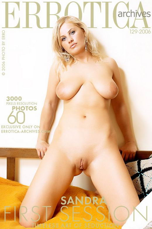 Sandra - `First Session` - by Erro for ERROTICA-ARCHIVES