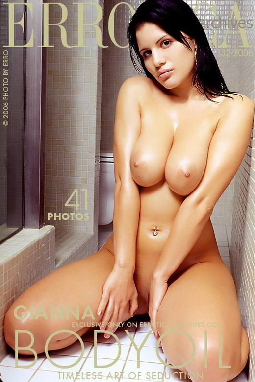 Gianna - `Body Oil` - by Erro for ERROTICA-ARCHIVES