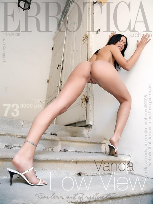Vanda - `Low View` - by Erro for ERROTICA-ARCHIVES