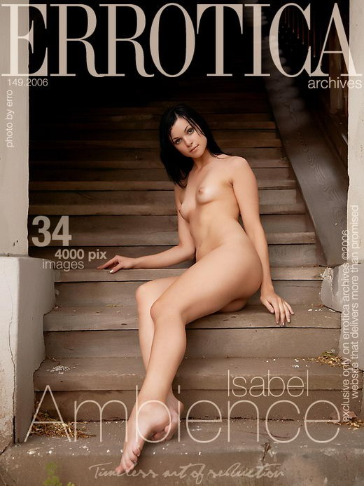 Isabel - `Ambience` - by Erro for ERROTICA-ARCHIVES