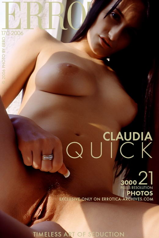 Claudia - `Quick` - by Erro for ERROTICA-ARCHIVES