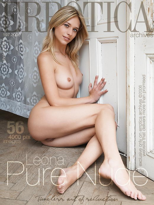 Leona - `Pure Nude` - by Erro for ERROTICA-ARCHIVES