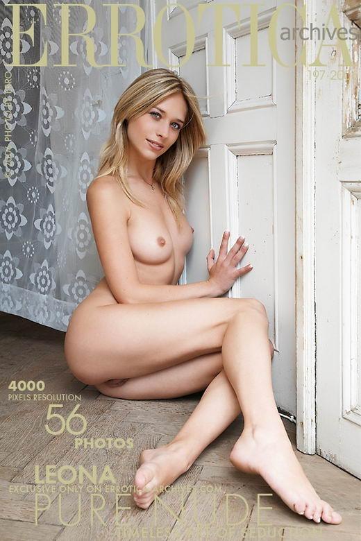 Leona - `Pure Nude` - by Erro for ERROTICA-ARCHIVES
