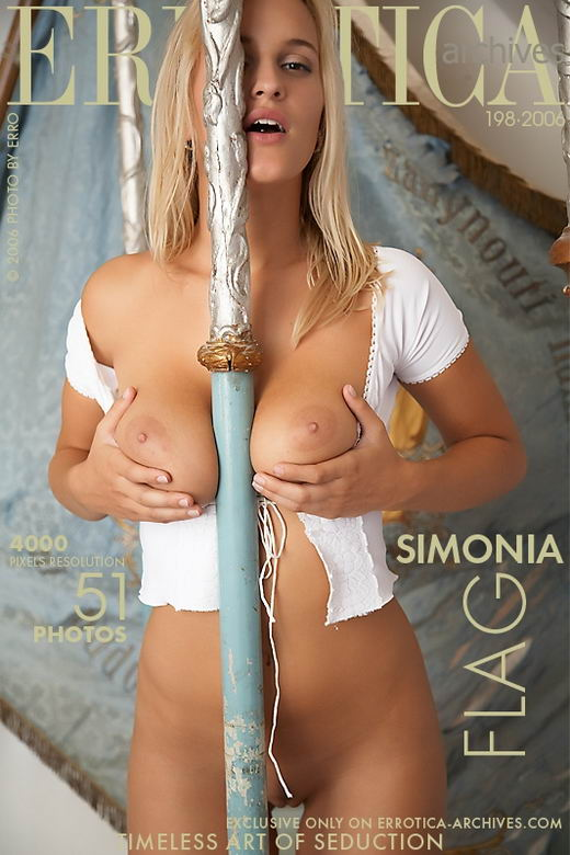 Simonia - `Flag` - by Erro for ERROTICA-ARCHIVES