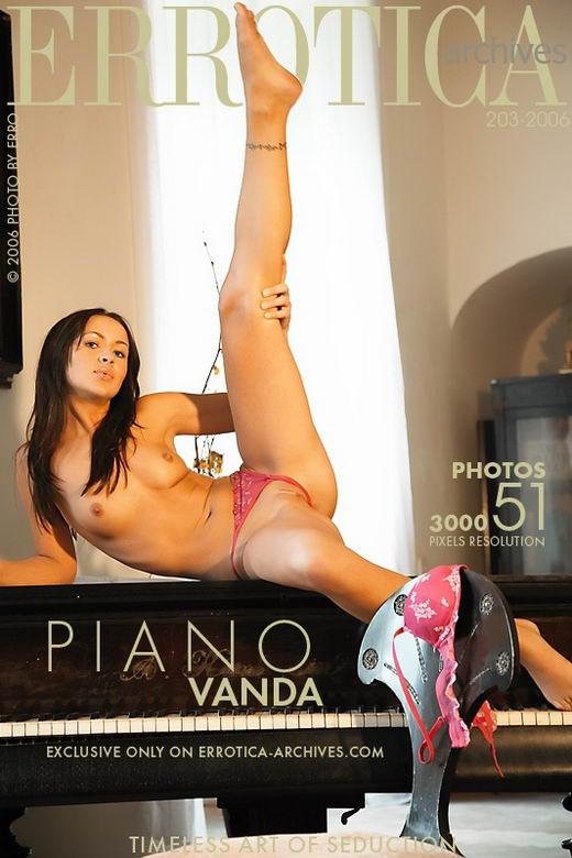 Vanda - `Piano` - by Erro for ERROTICA-ARCHIVES