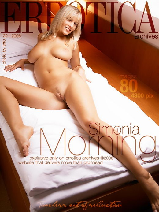Simonia - `Morning` - by Erro for ERROTICA-ARCHIVES