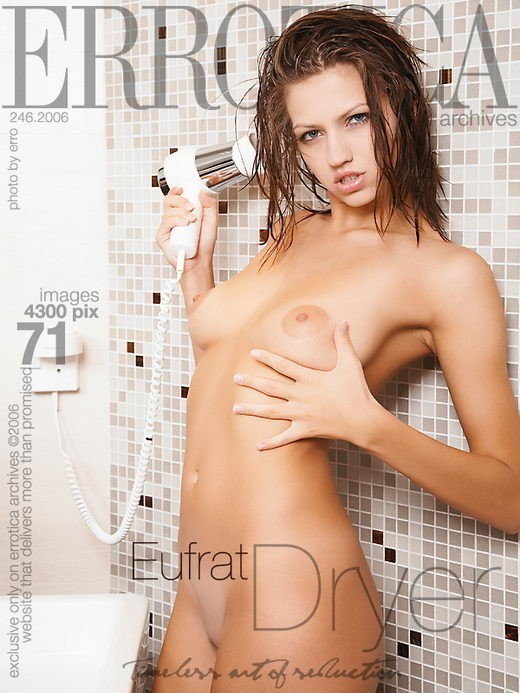 Eufrat - `Dryer` - by Erro for ERROTICA-ARCHIVES