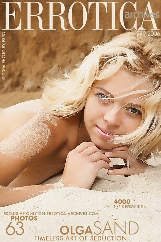 Olga - `Sand` - by Erro for ERROTICA-ARCHIVES