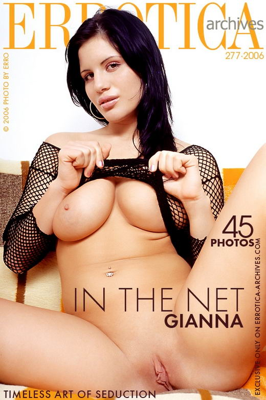 Gianna - `In The Net` - by Erro for ERROTICA-ARCHIVES