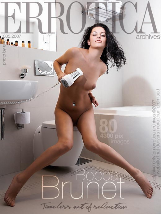 Becca - `Brunet` - by Erro for ERROTICA-ARCHIVES