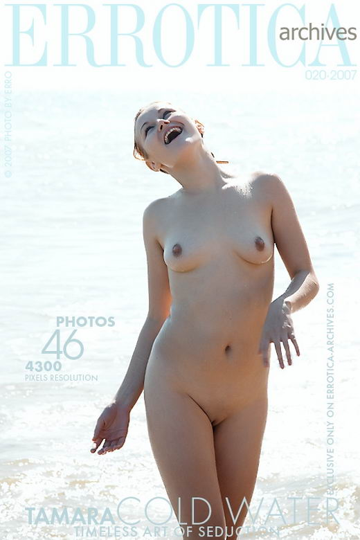 Tamara - `Cold Water` - by Erro for ERROTICA-ARCHIVES