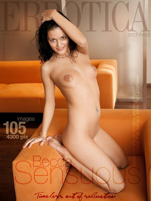 Becca - `Sensuous` - by Erro for ERROTICA-ARCHIVES