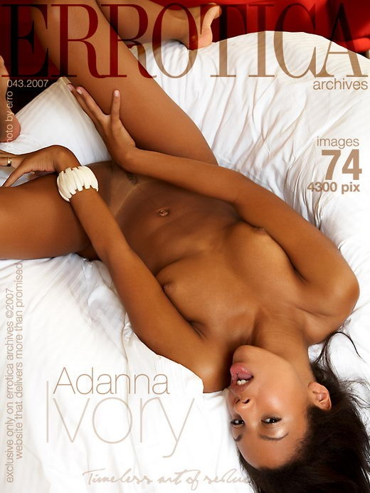 Adanna - `Ivory` - by Erro for ERROTICA-ARCHIVES