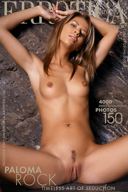 Paloma - `Rock` - by Erro for ERROTICA-ARCHIVES