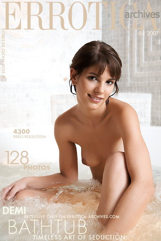 Demi - `Bathtub` - by Erro for ERROTICA-ARCHIVES