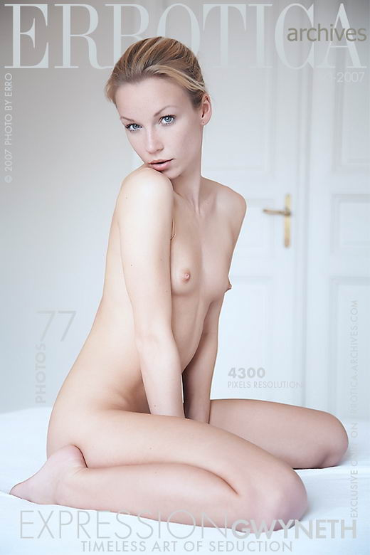 Gwyneth - `Expression` - by Erro for ERROTICA-ARCHIVES